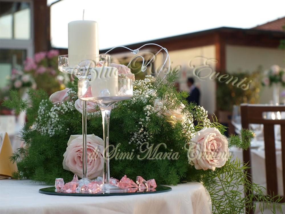 Addobbi tavoli matrimonio con candele u2013 idee immagine di decorazione