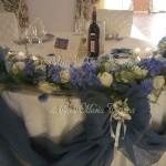 Matrimonio dai colori azzurro cielo