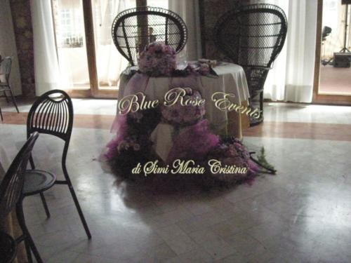 Bride and Groom table